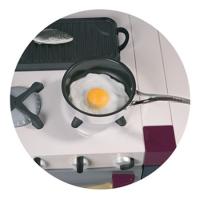Панда и Журавль - иконка «кухня» в Майе